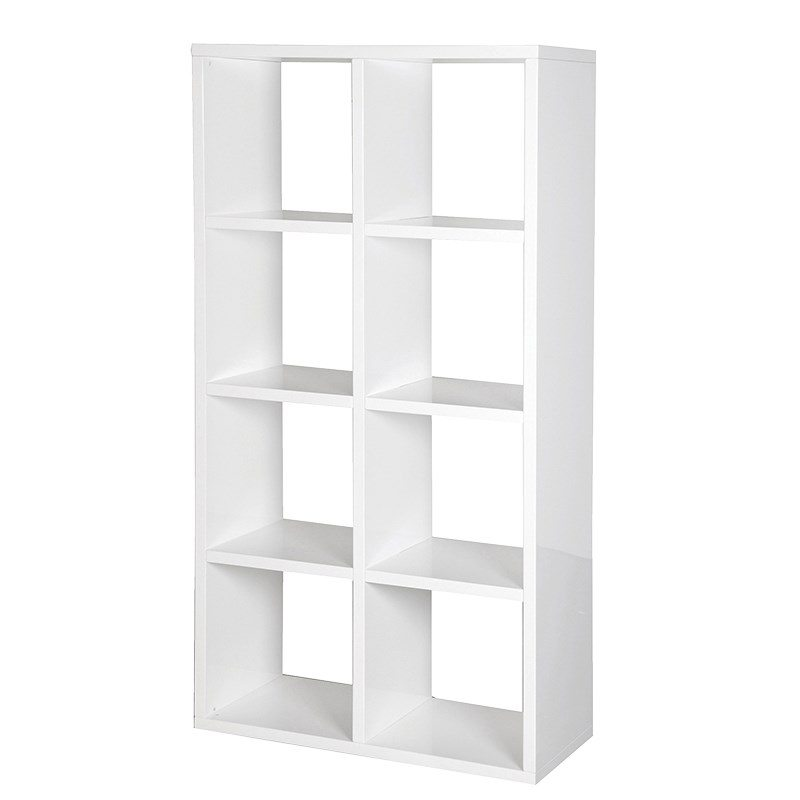 Cellini White Book Case