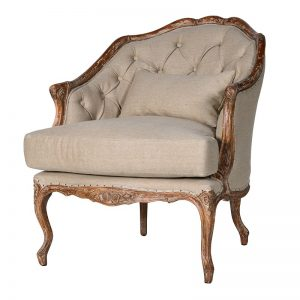 Thadeo French Style Armchair