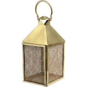 Rin Large Lantern in Gold