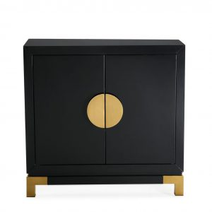 Konstantina Black High Gloss Sideboard