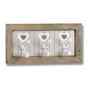 The Studley Collection 3 Heart Wall Hook